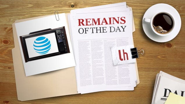 Remains of the Day: AT&T's New TV Streaming Service Will Offer 100 Channels for $35