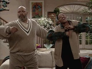 James Avery and Will Smith in The Fresh Prince of Bel-Air.GIPHY