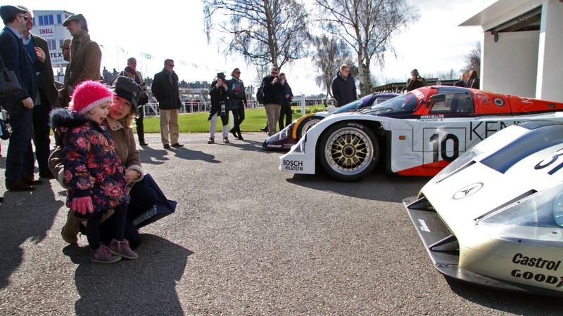 Illustration for article titled Get Lost In The Amazing Details Of Group C Cars Like This Little Girl