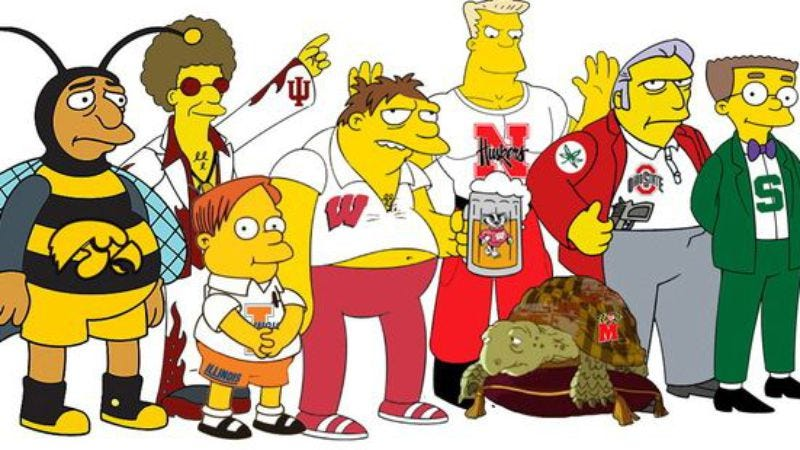 Illustration for article titled WhichSimpsonscharacter is your alma mater?