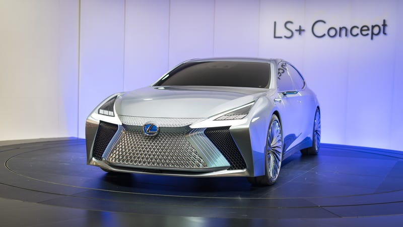 Illustration for article titled The Lexus LS+ Concept Is Built To Drive Itself In A City