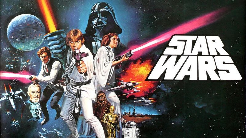 Illustration for article titled 'Star Wars' Turns 40