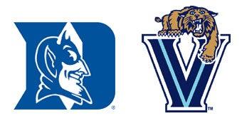 Illustration for article titled NCAA Sweet 16: (2) Duke vs. (3) Villanova
