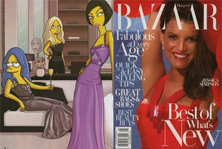 Illustration for article titled Which Simpson Wore It Best?
