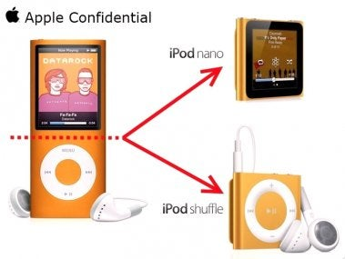 Illustration for article titled The Secret Behind The New iPod Nano & iPod Shuffle