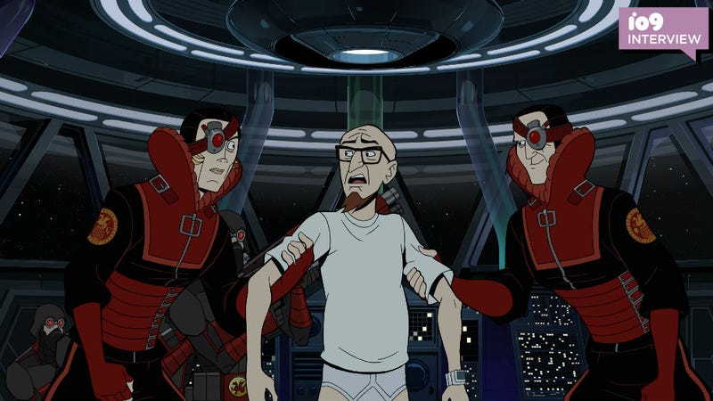 Rusty's in yet another predicament on The Venture Bros.