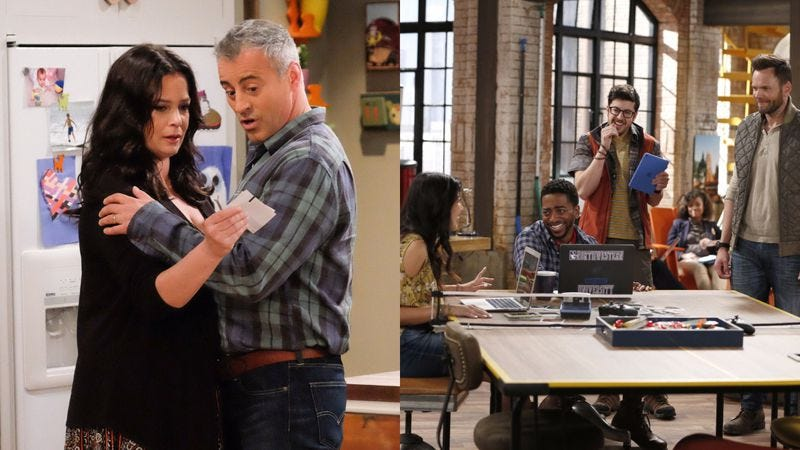 Man With A Plan (left) and The Great Indoors (Photos: Darren Michaels/CBS; Cliff Lipson/CBS)
