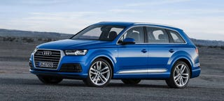 Illustration for article titled 2016 Audi Q7: It's A Damn Station Wagon