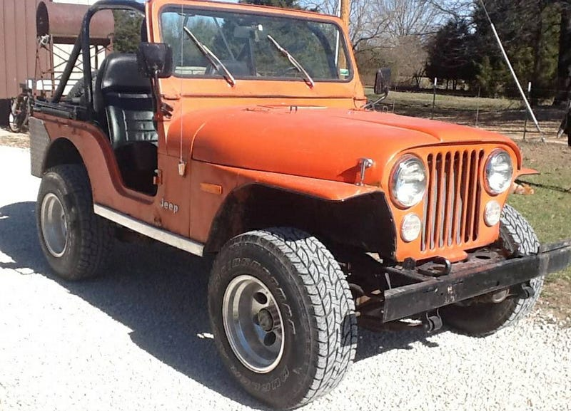 Illustration for article titled For $3,750, Could This 1978 Jeep CJ-5 Be Your New Summer Love?