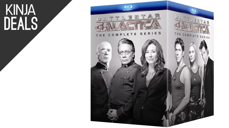 Illustration for article titled Today's Best Media Deals: Battlestar Galactica, X-Files, and More