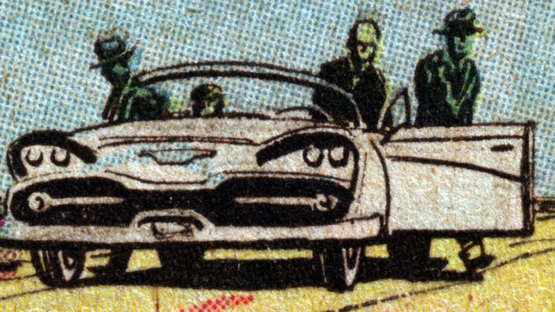 Illustration for article titled What's The Fastest Comic Book Car?
