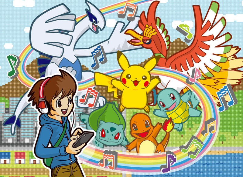 Illustration for article titled 20 Amazing Pokemon Music Tracks for Pokemon's 20th Birthday