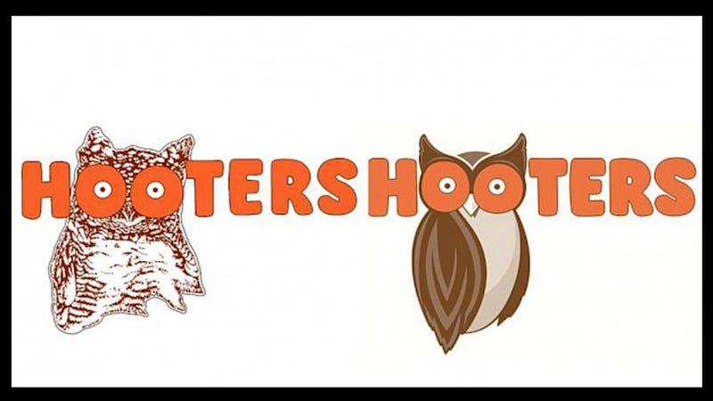 Illustration for article titled Hooters' New 'Modernized' Owl Logo Still Looks Like Boobs