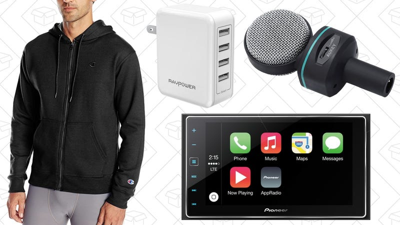 Illustration for article titled Today's Best Deals: Activewear, CarPlay, iPhone Cases, and More