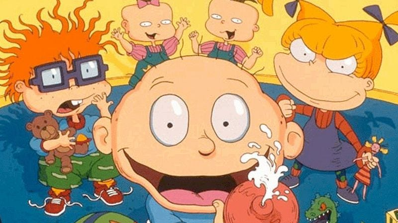 Illustration for article titled How Nicktoons celebrated the holidays and found emotional resonance in farts