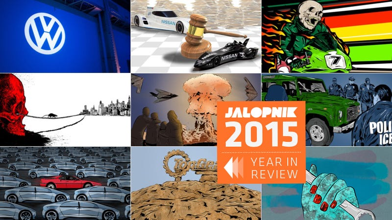 Illustration for article titled The Very Best Jalopnik Stories Of 2015