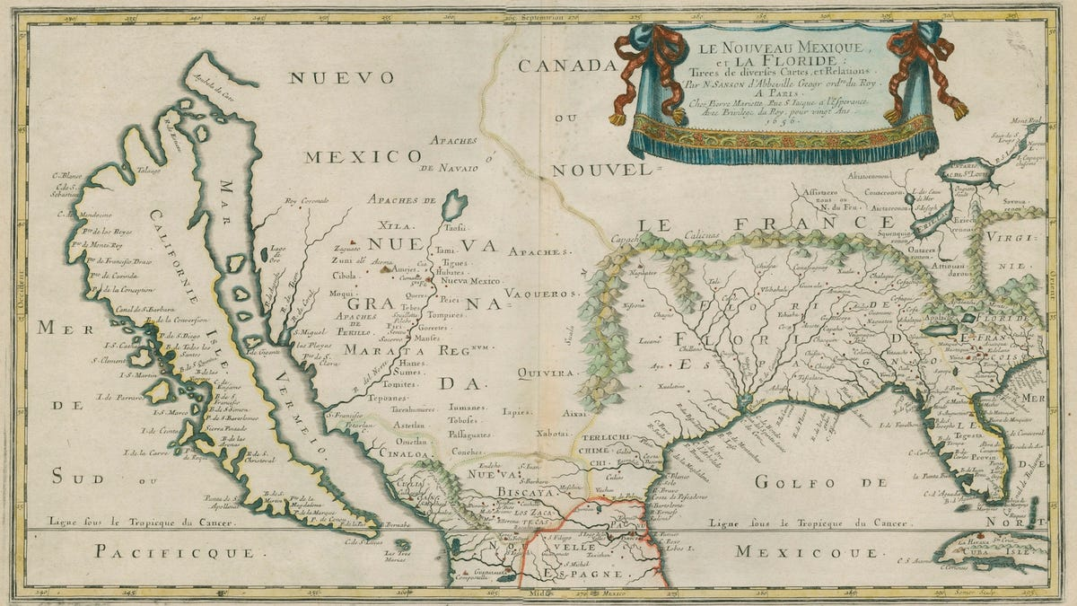 Map Of America Eastern Seaboard.12 Maps Of America From Before We Knew What It Looked Like