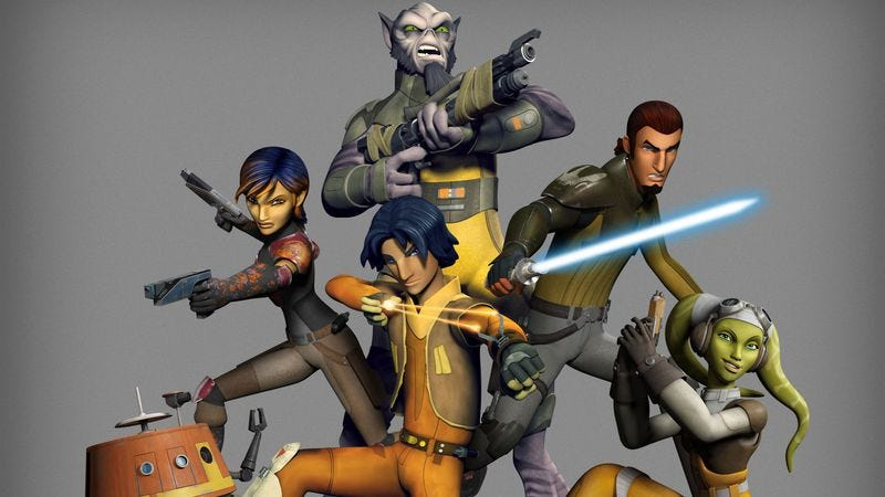 Illustration for article titled Help us, Star Wars Rebels. You're our only hope.