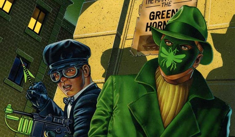 The Green Hornet and Kato, by Jeff Butler.