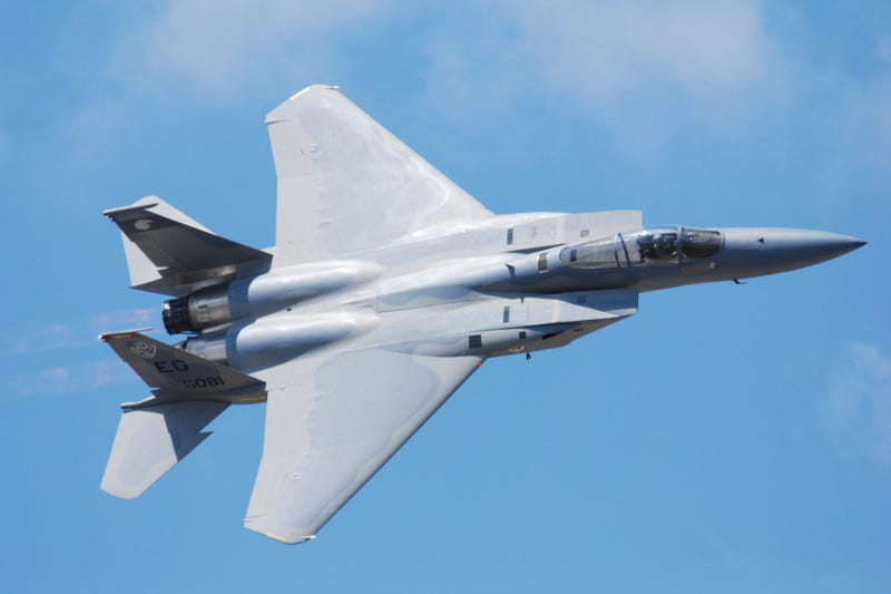 The F-15C Demo Was Ten Minutes Of Screaming Eagle Freedom