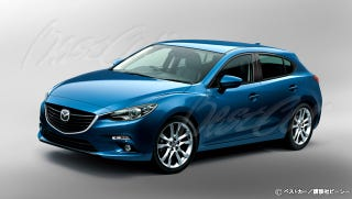Illustration for article titled Best Car's take on the next Mazda 3