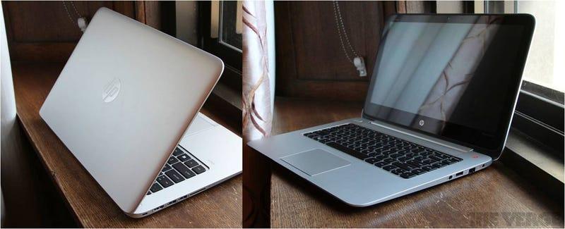 Illustration for article titled ¿Es un HP o un MacBook? Llega la competencia de la pantalla Retina