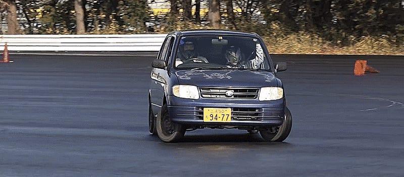 Drifting  Suzuki Alto
