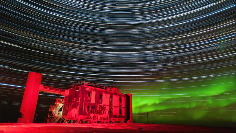 Image: Stephan Richter, IceCube/NSF