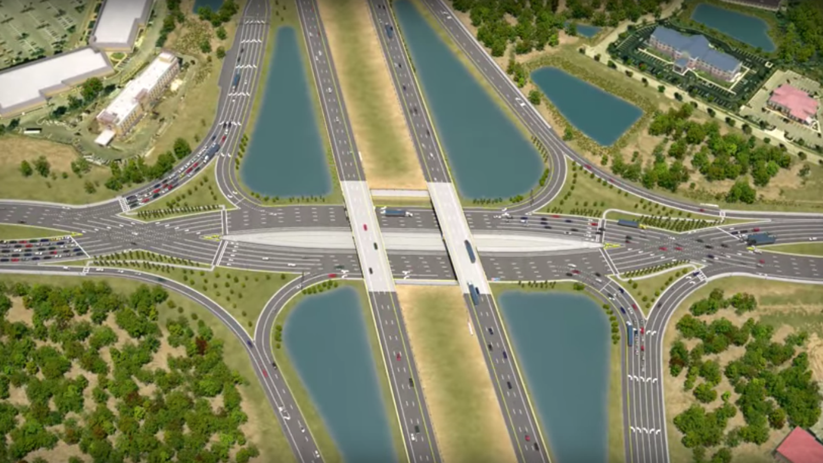The Diverging Diamond Interchange Looks Like Hell But Promises a Safer Future
