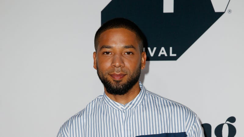 Jussie Smollett attends the 'Empire' Season 5 world premiere during the 2018 Tribeca TV Festival on September 22, 2018 in New York City.