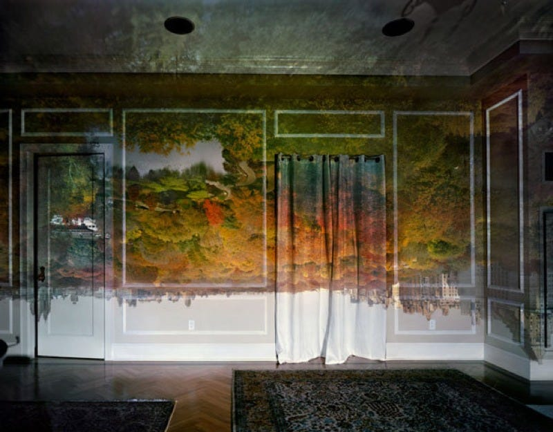 """Illustration for article titled This Artist Creates Eye-Popping """"Roomscapes"""" with a Camera Obscura"""