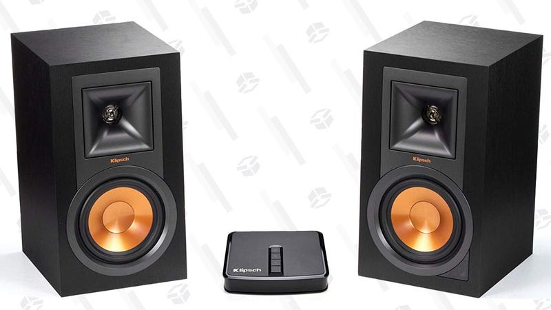 Klipsch R-15PM Speaker Pair + Gate | $297 | Amazon | Promo code KINJASVH