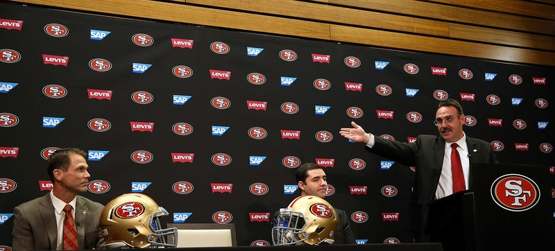 Illustration for article titled The 49ers' Front Office Is Still A Huge Mess