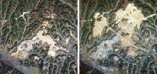 China está moviendo montañas (literalmente) para expandir ciudades