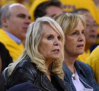 Shelly Sterling, the wife of Donald Sterling, owner of the Los Angeles ClippersThearon W. Henderson/Getty Images