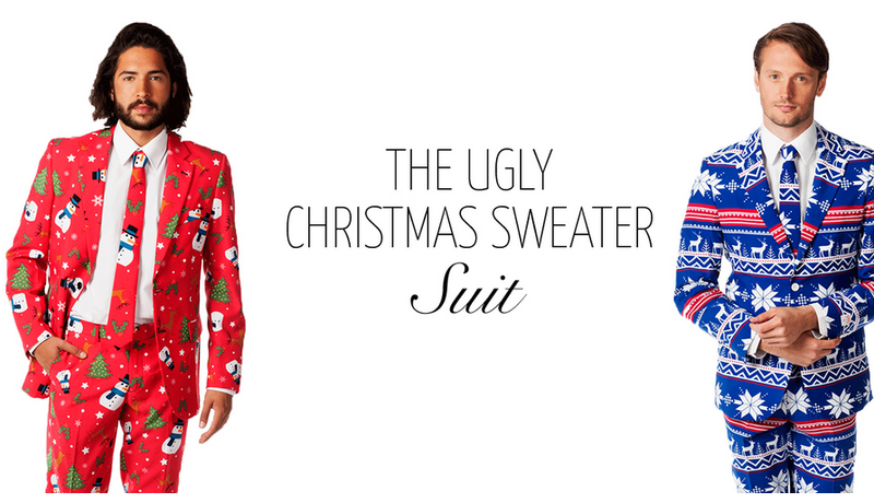 get an ugly suit inspired by the ugliest christmas sweaters - Christmas Sweater Suit