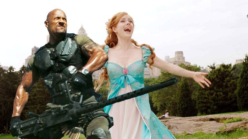 Illustration for article titled G.I. Joe and Enchanted to get separate sequels rather than one combined sequel