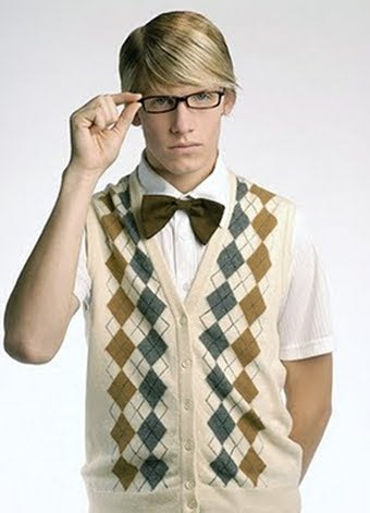 Seth Is The Pencil Looking Geek