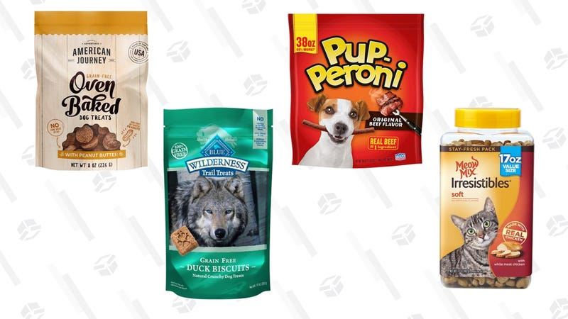 30-50% Off Dog and Cat Treats | Chewy