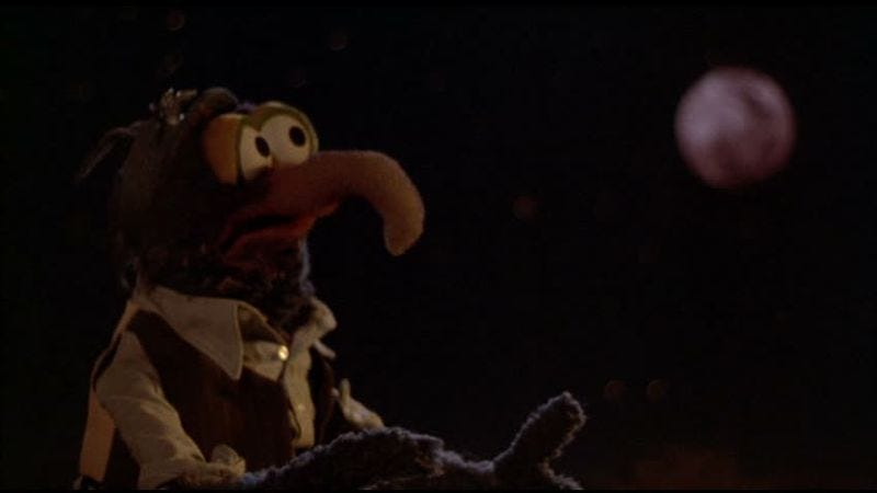 """Illustration for article titled """"I'm Going To Go Back There Someday"""" is the saddest tune ever sung by a Muppet"""