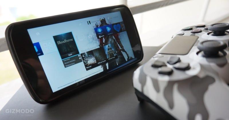 Illustration for article titled Cómo jugar cualquier juego de tu PS4 en un dispositivo Android