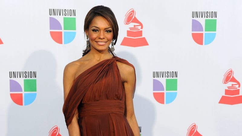 TV personality Ilia Calderón arrives at the 11th annual Latin Grammy Awards in Las Vegas on Nov. 11, 2010. (Ethan Miller/Getty Images)