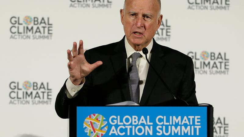 California Governor Jerry Brown.