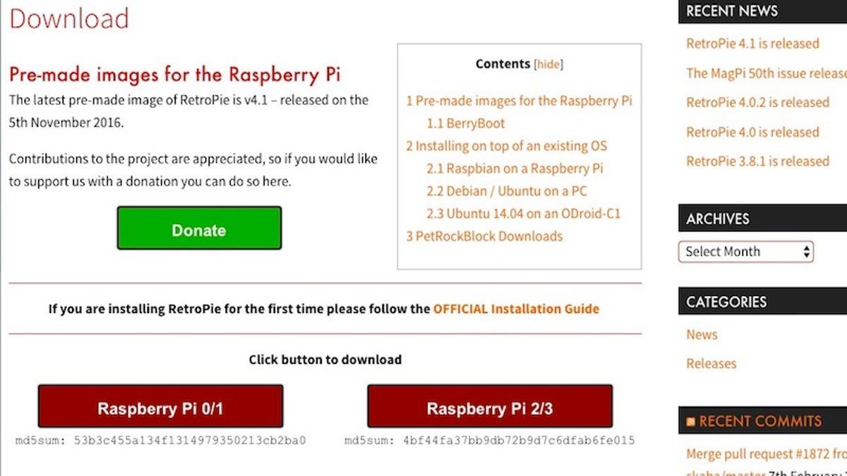 How To Build A Raspberry Pi Retro Game Console