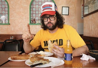 Illustration for article titled What The Fuck Are We Supposed To Do With Judah Friedlander?