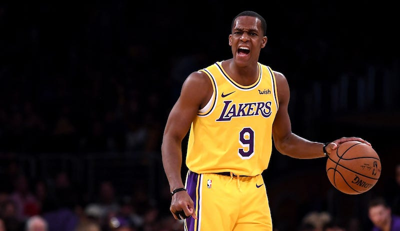 Rajon Rondo Earns Technical With Innovative Free-Throw