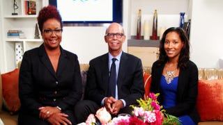 Harriette Cole, Michael Lomax, CEO of the United Negro College Fund, and author Shanice MillerHarriette Cole Media