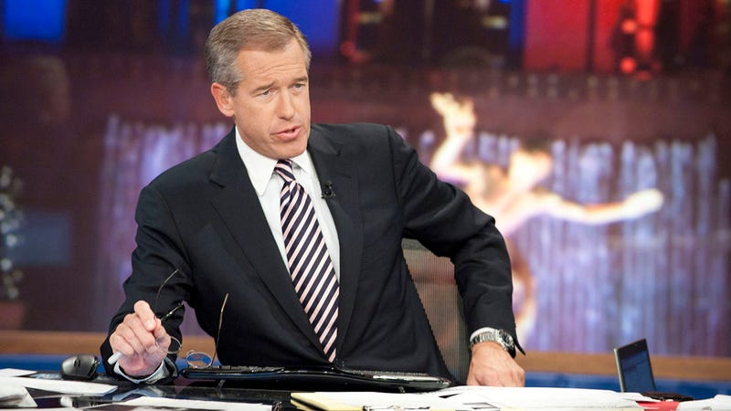 Illustration for article titled A Real Shame: Brian Williams Is Being Forced To Resign From MSNBC After Leaked Documents Have Revealed That He's A Hillbilly