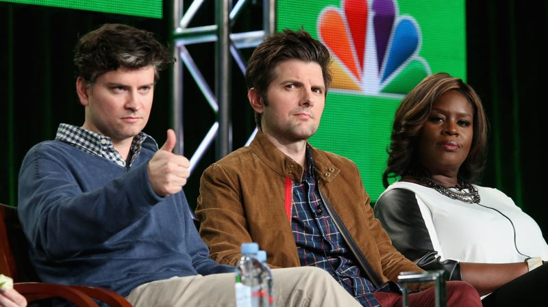Illustration for article titled Adam Scott politely requests Mitch McConnell keep his fucking tweets off Parks And Rec's Ben Wyatt