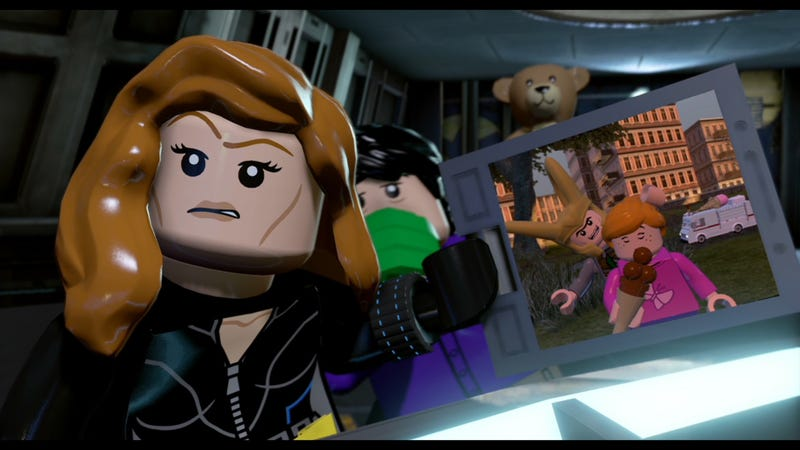 Illustration for article titled The New LEGO Marvel Game Does Ridiculous Things To The Avengers